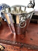 Antique/Mid 20th Century 800 Silver Italian Wine, Champagne Cooler, Ice Bucket