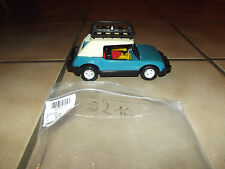 Playmobil 3210 voiture bleue et conductrice 1977 mains fixes