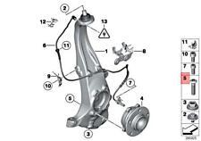 BMW (2009-2018) Bolt for Wheel Hub / Bearing (12 X 1.5 X 45 mm) (8) GENUINE