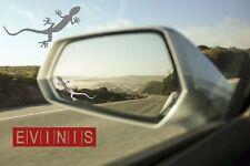 Audi Quattro Gecko Argent Petit symbole miroir autocollants stickers Paire