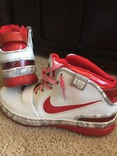 "LEBRON VI 6 ""OHIO STATE"" ZOOM NIKE AIR DS"