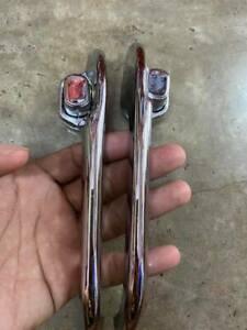 Mazda FAMILIA 1000/1200/1300 UTE R100 Outer door handle LH+RH NOS 02