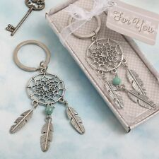 144 Silver Metal Dream Catcher Key Chain Southwest American Indian Design Favors