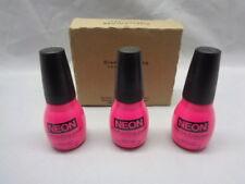 Neon Sinful Colors Nail Polish #2039 - LET ME FLAMINGO Lot of 3