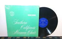 Southern California Mormon Choir - Encore, Fredrick Davis LP 1967