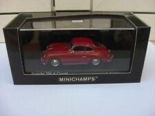 Porsche 356 A coupe 1959 red Minichamps 400064220 MIB 1:43 911 914 959 MEGA RARE