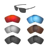 Walleva Replacement Lenses for Oakley Conductor 6 Sunglasses - Multiple Options