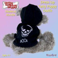 Me To You Dress Up Tatty Puppy Clothes Outfit - Skeleton Hoodie Coat