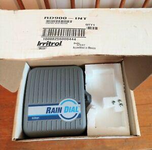 Irritrol Rain Dial RD-900 RD900 9 Zone 3 Time Sprinkler System Timer Control Box