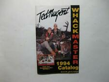 Ted Nugent Whackmaster Catalog  1994 Bowhunting