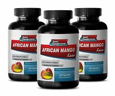 African Mango Capsules - African Mango Lean Extract 1200mg - Energy Booster 3B