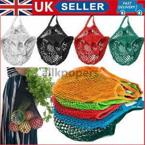 Reusable Mesh Net Turtle Bags Storage Shopping Bag Fruit String Handbag Tote