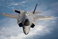 """19"""" x 13"""" Poster F35 Military Fighter Jet Lightning Bomber"""