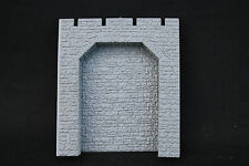 V397 Train diorama Ho Mur soutenement plastique 1 arche pierre 104*90 mm tunnel