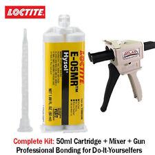 Loctite EA-Hysol E-05MR Moistureant Fast Set Clear Epoxy-50ml+Dispenser