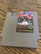Mike Tyson's Punch-Out Nintendo Entertainment System NES Cart NE1