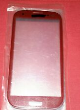 vitre remplacement facade glass samsung galaxy s3 i9300 i9305 :rouge neuf