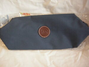 MENS GREEN AND BROWN WASH BAG BRAND NEW IN PACKET 35 CM X 16 CM