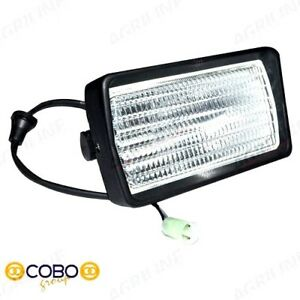 CAB ROOF WORK LIGHT (L/H) FOR FORD TW15 TW25 TW35 8630 8730 8830 TRACTORS.