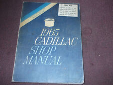 1965 GM Cadillac Shop Service Repair Workshop Manual FACTORY BRAND NEW