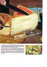 PUBLICITE ADVERTISING  1964   BONBEL  fromage moelleux & fondant