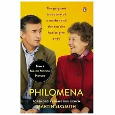 PHILOMENA - Martin Sixsmith Book Featuring Judi Dench - NEW PAPERBACK BOOK