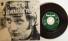 Johnny HALLYDAY  NOIR C'EST NOIR (CD single)   MERCURY 1211437 Edt Code Barre