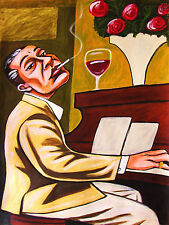 COLE PORTER PRINT poster jazz piano american songbook de-lovely anything goes cd
