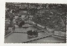 Geneve Vue Generale Prise d'Avion Switzerland RP Postcard 444a