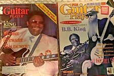 B.B. KING GUITAR PLAYER MAGAZINES  1980/ 1991 ZZ TOP