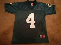 BRETT FAVRE #4 Green Bay Packers Jersey - Reebok NFL Size Medium Youth!