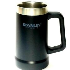 Stanley Stein Mug Vacuum insulation Stainless Black Cold Drinks BPA Free 24 oz