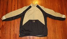 Adiddas Pull Over Wind Breaker Men's Large - Olive Green and Black, Lined