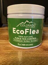 Sealed Colorado Dog Co Ecoflea All Natural Flea Tick Control 120 Soft Chews