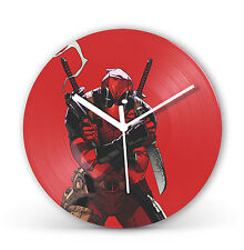 "Deadpool 12"" LP Vinyl Record Clock Comic Movie Christmas Gift Present cl17"