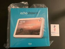 "Amazon Echo Show 8 HD 8"" smart Assistant display with Alexa Sandstone White NEW!"
