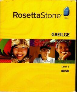 ROSETTA STONE GAEILGE LEVEL 1 IRISH