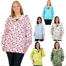 Raincoat Floral Hip Length Coats & Jackets for Women
