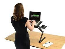 WorkEZ Cool Laptop Cooling Stand Standing Desk Lap Desk fans USB Ports Mouse Pad