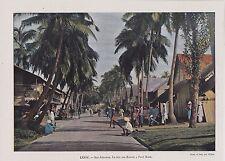 1896  --  ILES ANDAMAN  LA RUE DES BAZARS A PORT BLAIR   3J026