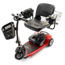 NEW Pride Mobility GO-GO Ultra X 3-Wheel Travel Scooter SC40X + Accessory BUNDLE
