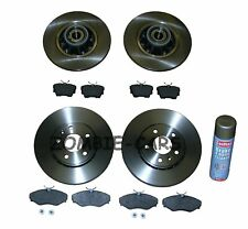 VIVARO FRONT AND REAR BRAKE DISCS PADS WITH ABS RING AND BEARING