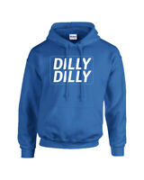 Bud Beer Drinking Commercial Dilly Dilly Funny Adult Hooded Sweatshirt Hoodie