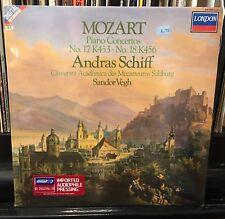 ANDRAS SCHIFF Sandor Vegh MOZART piano concertos nos.17 K453 & 18 K456 HOLLAND