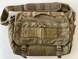 5.11 Tactical Messenger Bag, Medium, Desert Brown