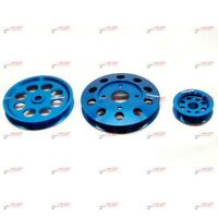 GReddy Aluminium Pulley Kit FITS Silvia S13 180SX RPS13 96 On SR20DET 13522122
