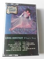 LINDA RONSTADT WHAT'S NEW CASSETTE TAPE- ROCK- 1983- ASYLUM
