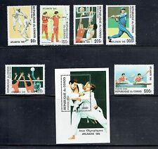 CONGO (RDC), 1102-08, 1996 OLYMPICS, MNH (CPR005)