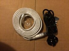 Warm Amber 220- 240V Waterproof SMD 3528LED Rope Strip Light  6M