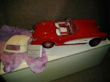 Franklin Mint Precision Models 1957 Chevrolet Corvette 1:24 Scale Diecast in Box
